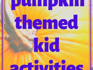 Jack-O-Lantern – Pumpkin Themed Kid Activities